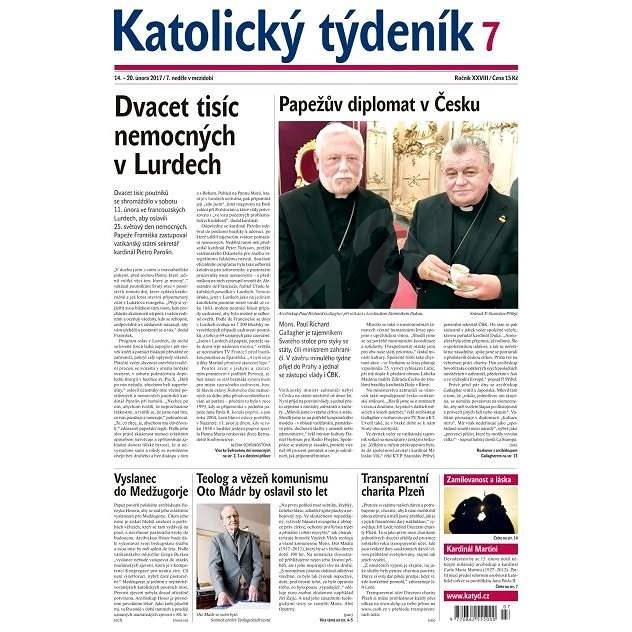 Katolický týdeník - 7/2017 - Elektronické noviny