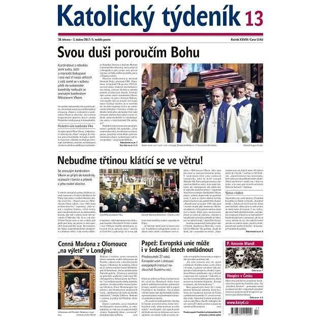 Katolický týdeník - 13/2017 - Elektronické noviny