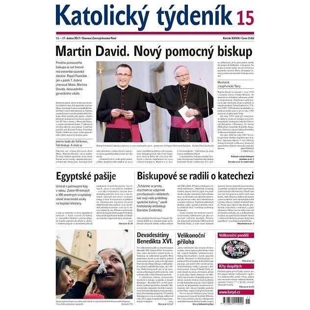 Katolický týdeník - 15/2017 - Elektronické noviny