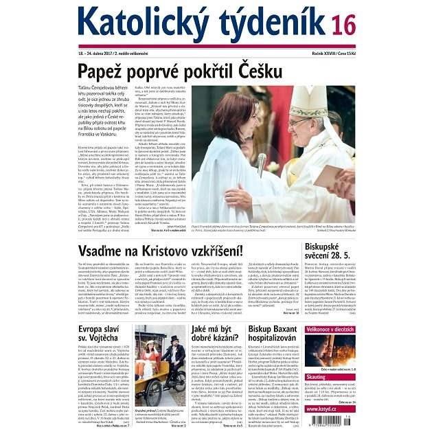Katolický týdeník - 16/2017 - Elektronické noviny