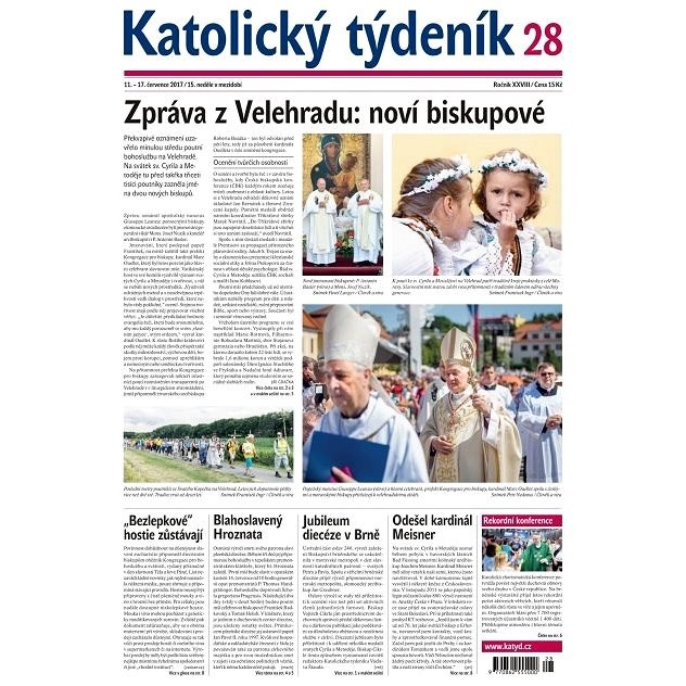 Katolický týdeník - 28/2017 - Elektronické noviny