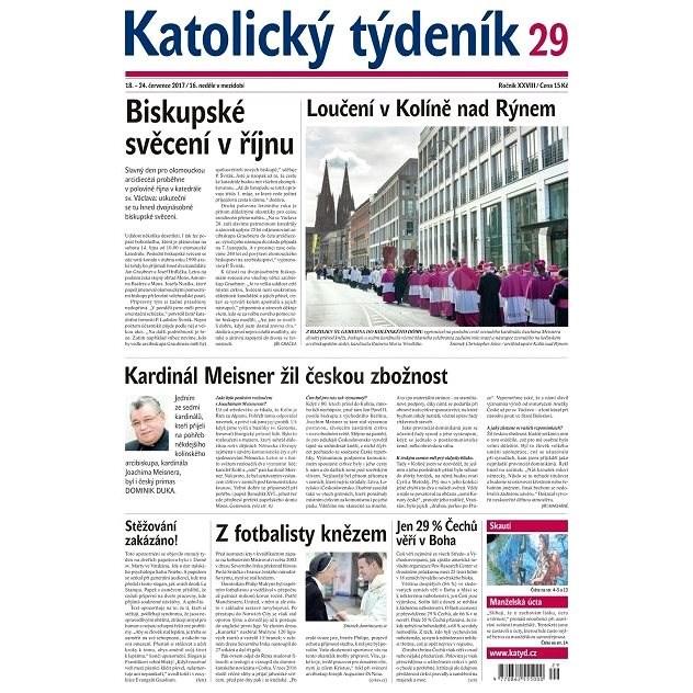 Katolický týdeník - 29/2017 - Elektronické noviny
