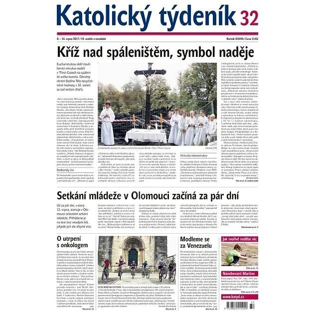 Katolický týdeník - 32 - Elektronické noviny