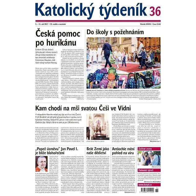 Katolický týdeník - 36/2017 - Elektronické noviny