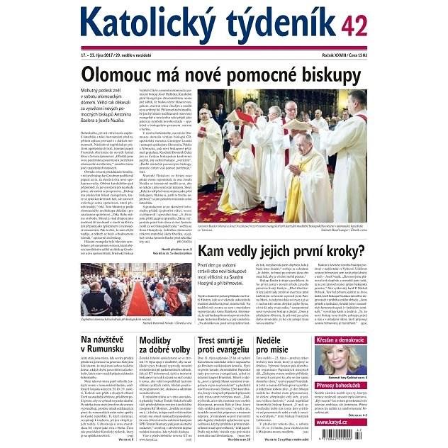 Katolický týdeník - 42/2017 - Elektronické noviny