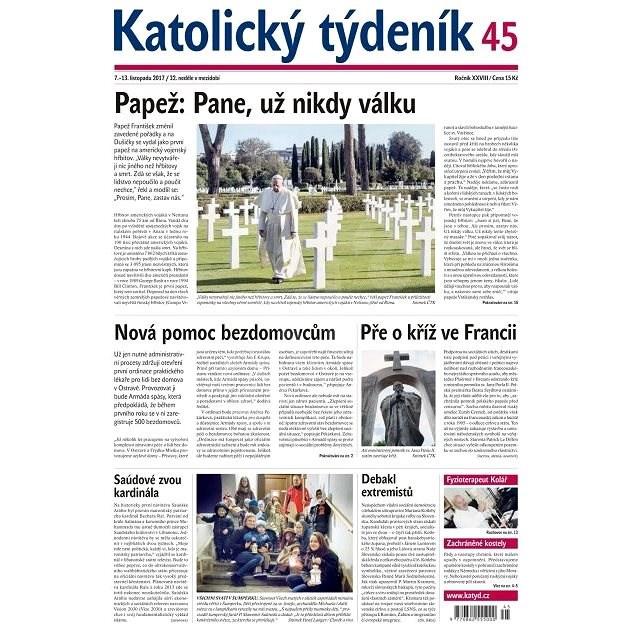 Katolický týdeník - 45/2017 - Elektronické noviny