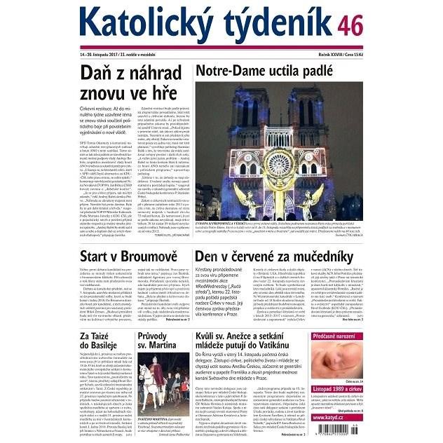 Katolický týdeník - 46/2017 - Elektronické noviny