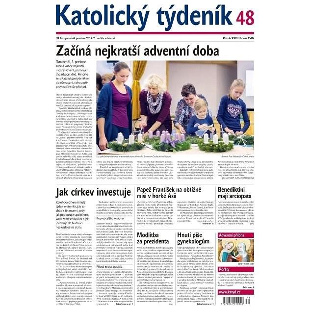 Katolický týdeník - 48/2017 - Elektronické noviny