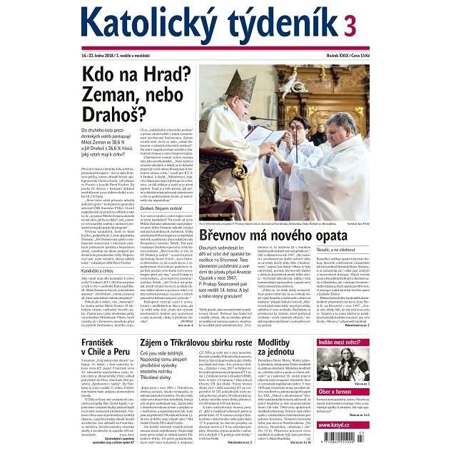 Katolický týdeník - 3/2018 - Elektronické noviny