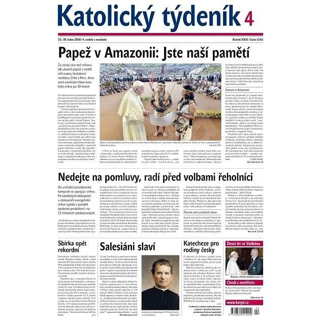 Katolický týdeník - 4/2018 - Elektronické noviny