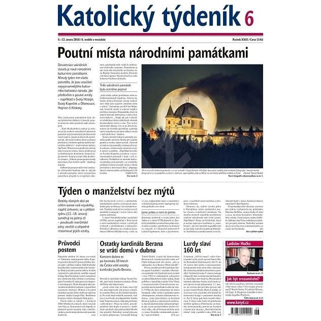 Katolický týdeník - 6/2018 - Elektronické noviny