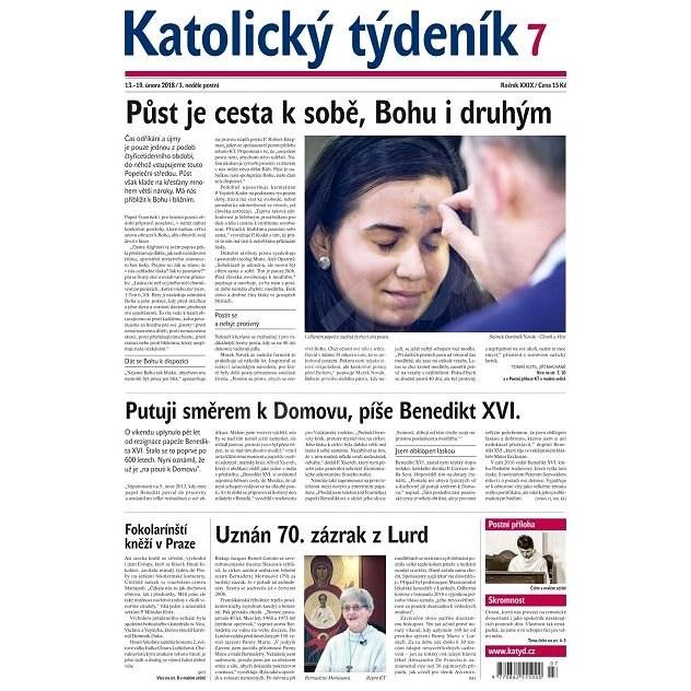Katolický týdeník - 7/2018 - Elektronické noviny