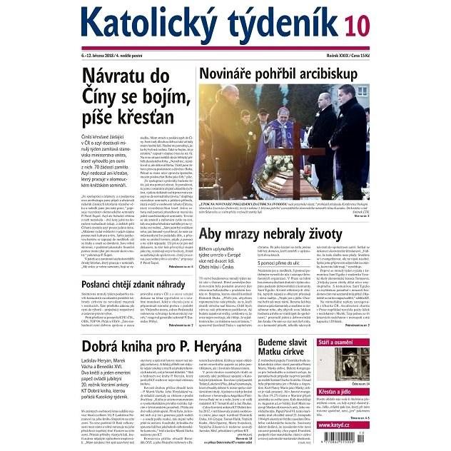 Katolický týdeník - 10/2018 - Elektronické noviny