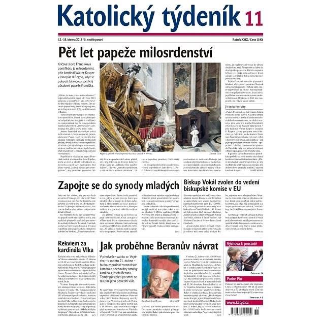 Katolický týdeník - 11/2018 - Elektronické noviny