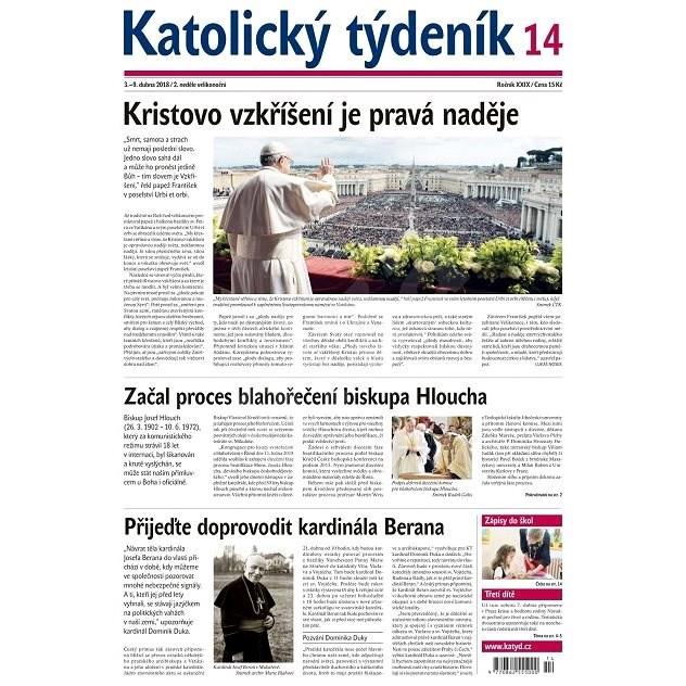Katolický týdeník - 14/2018 - Elektronické noviny