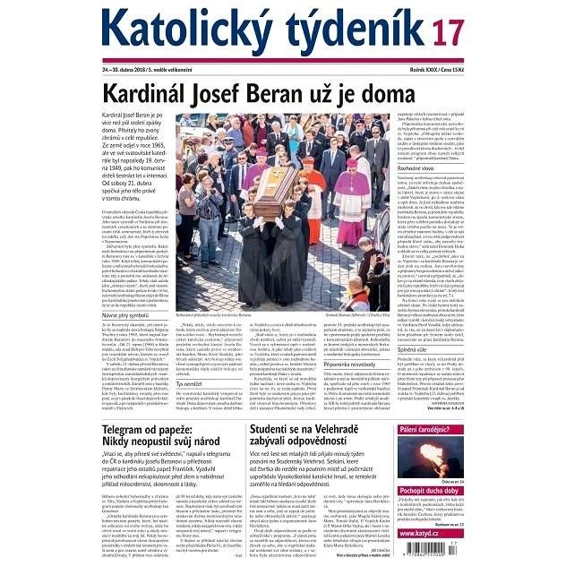 Katolický týdeník - 17/2018 - Elektronické noviny