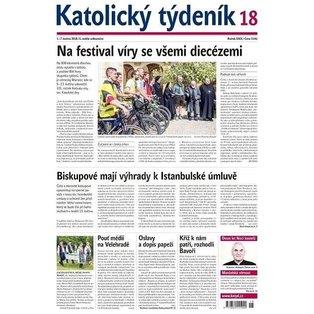 Katolický týdeník - 18/2018 - Elektronické noviny