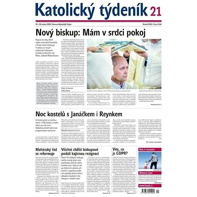 Katolický týdeník - 21/2018 - Elektronické noviny