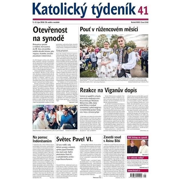 Katolický týdeník - 41/2018 - Elektronické noviny