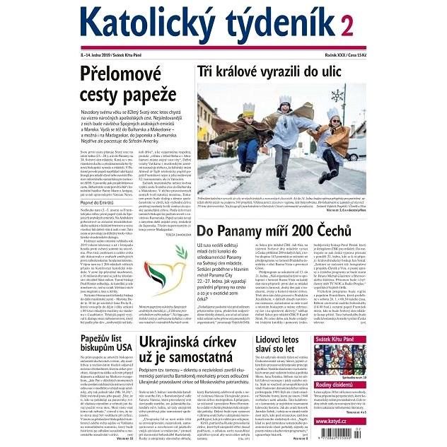 Katolický týdeník - 2/2019 - Elektronické noviny