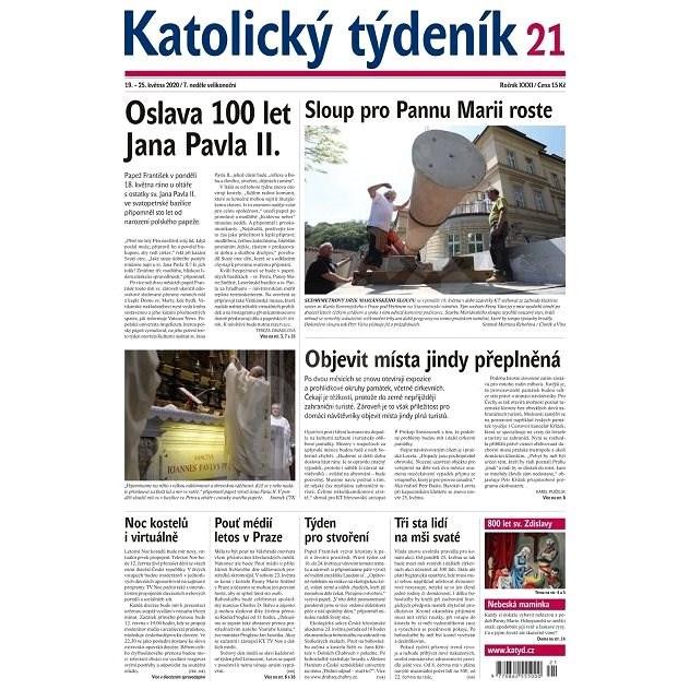 Katolický týdeník - 21/2020 - Elektronický časopis