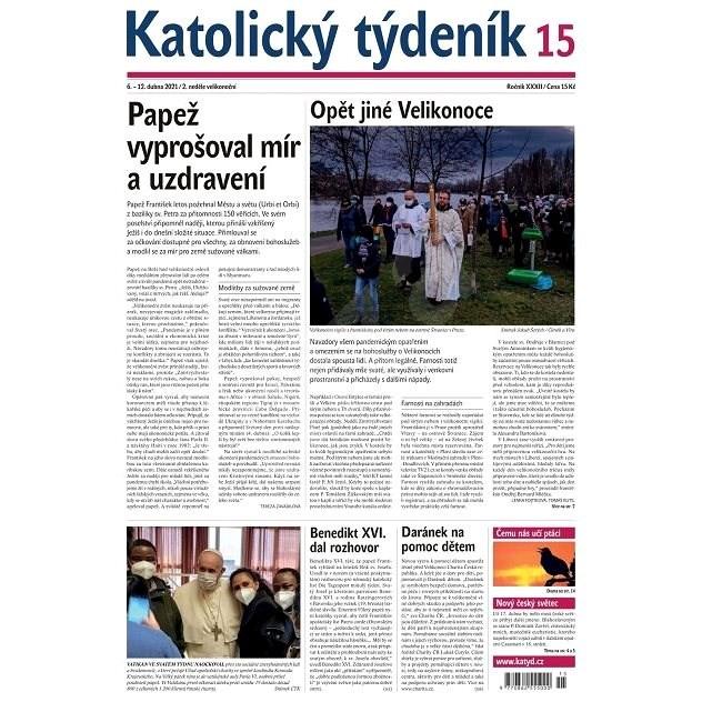 Katolický týdeník - 15/2021 - Elektronické noviny