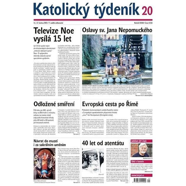 Katolický týdeník - 20/2021 - Elektronické noviny