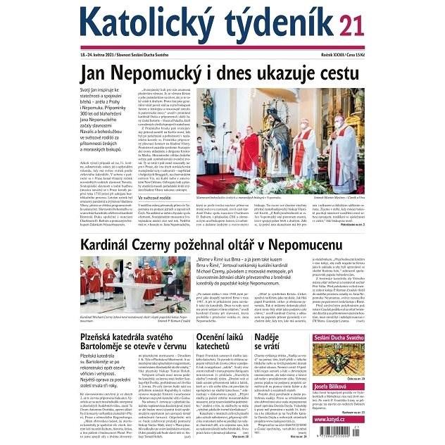 Katolický týdeník - 21/2021 - Elektronické noviny