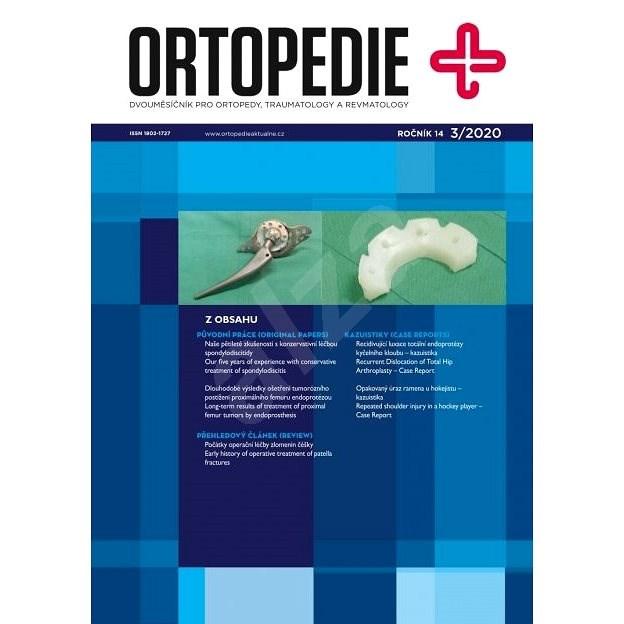 Ortopedie - 3/2020 - Elektronický časopis