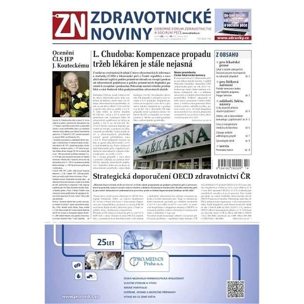 Zdravotnické noviny - 14/2014 - Elektronické noviny