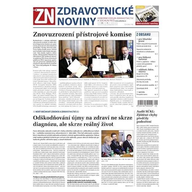 Zdravotnické noviny - 9/2014 - Elektronické noviny