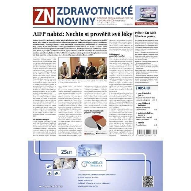 Zdravotnické noviny - 19/2014 - Elektronické noviny