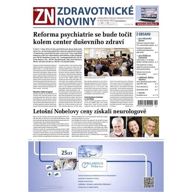 Zdravotnické noviny - 22/2014 - Elektronické noviny