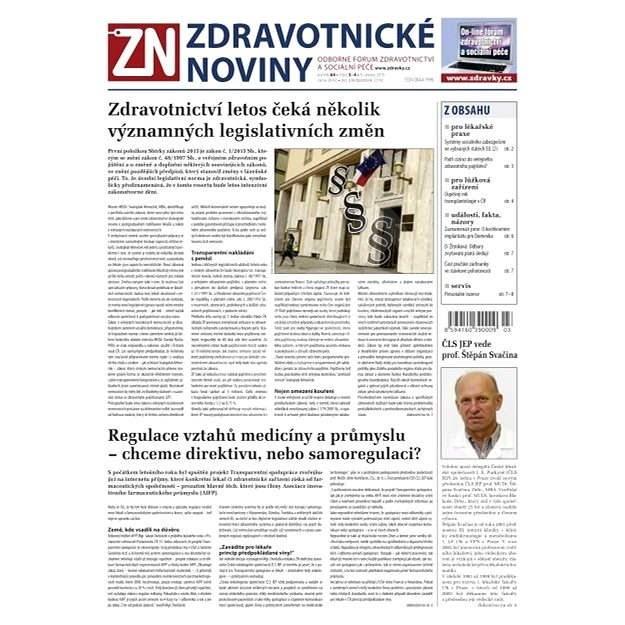 Zdravotnické noviny - 3-4/2015 - Elektronické noviny