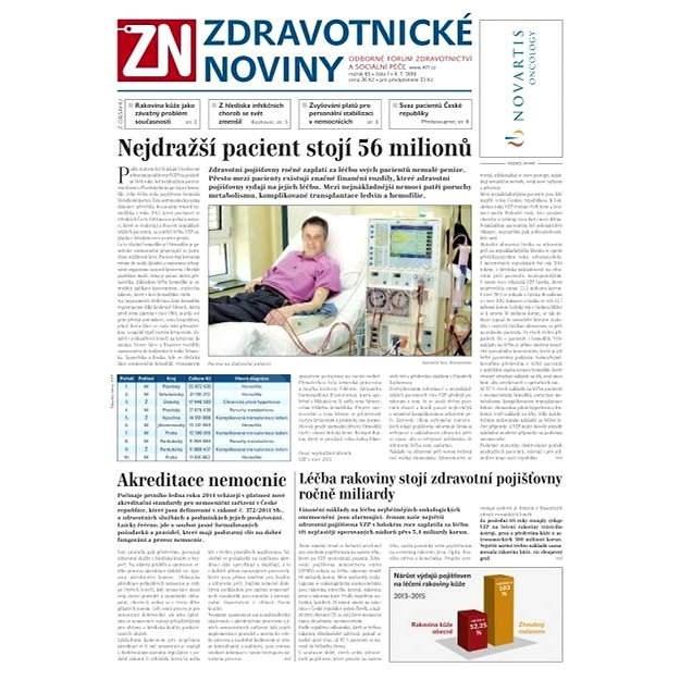 Zdravotnické noviny - 1/2016 - Elektronické noviny