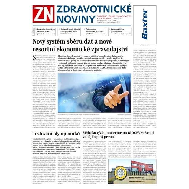 Zdravotnické noviny - 2/2016 - Elektronické noviny