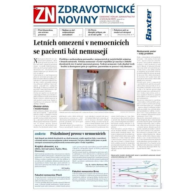 Zdravotnické noviny - 6/2016 - Elektronické noviny