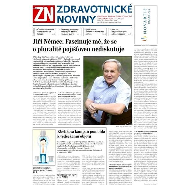Zdravotnické noviny - 7/2016 - Elektronické noviny