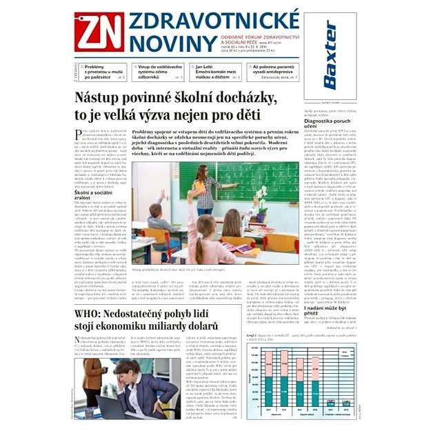 Zdravotnické noviny - 8/2016 - Elektronické noviny