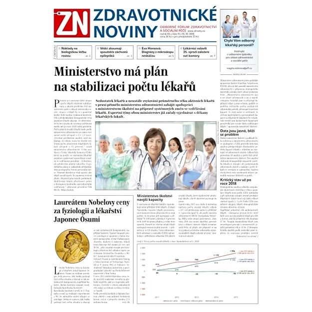 Zdravotnické noviny - 15/2016 - Elektronické noviny