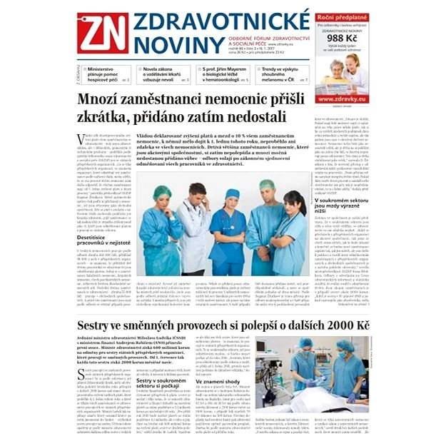 Zdravotnické noviny - pro lékaře - 3/2017 - Elektronické noviny