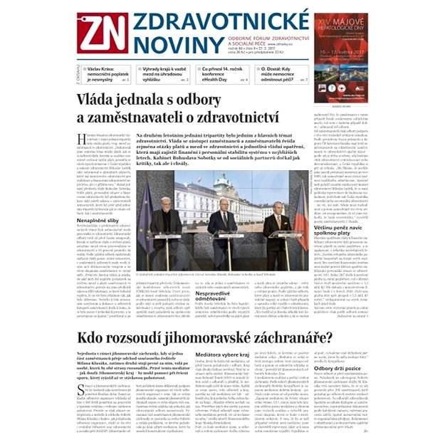 Zdravotnické noviny - pro lékaře - 9/2017 - Elektronické noviny