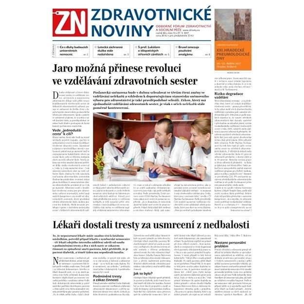 Zdravotnické noviny - pro lékaře - 13/2017 - Elektronické noviny