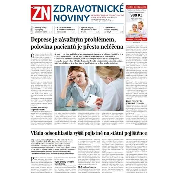 Zdravotnické noviny - pro lékaře - 16/2017 - Elektronické noviny