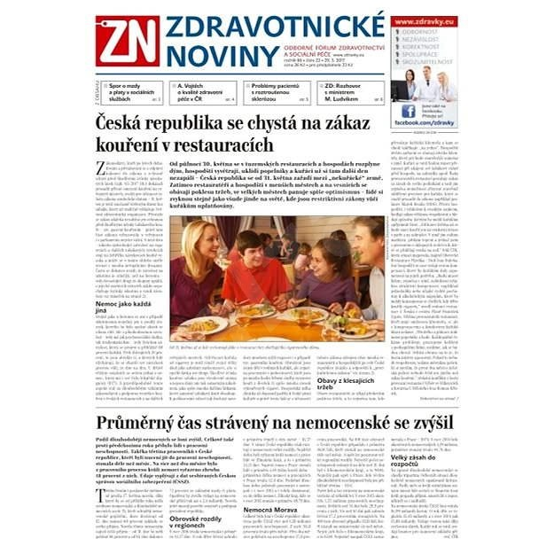 Zdravotnické noviny - pro lékaře - 22/2017 - Elektronické noviny