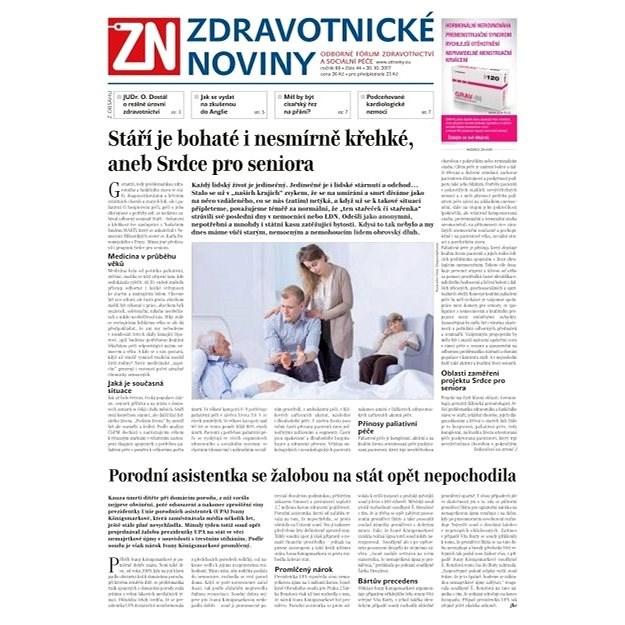 Zdravotnické noviny - pro lékaře - 44/2017 - Elektronické noviny