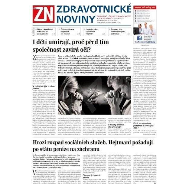 Zdravotnické noviny - pro lékaře - 45/2017 - Elektronické noviny