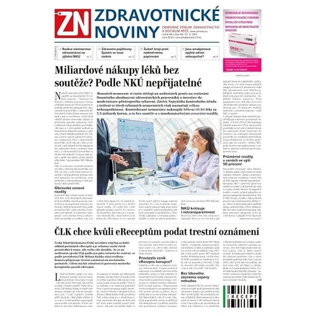 Zdravotnické noviny - pro lékaře - 48/2017 - Elektronické noviny
