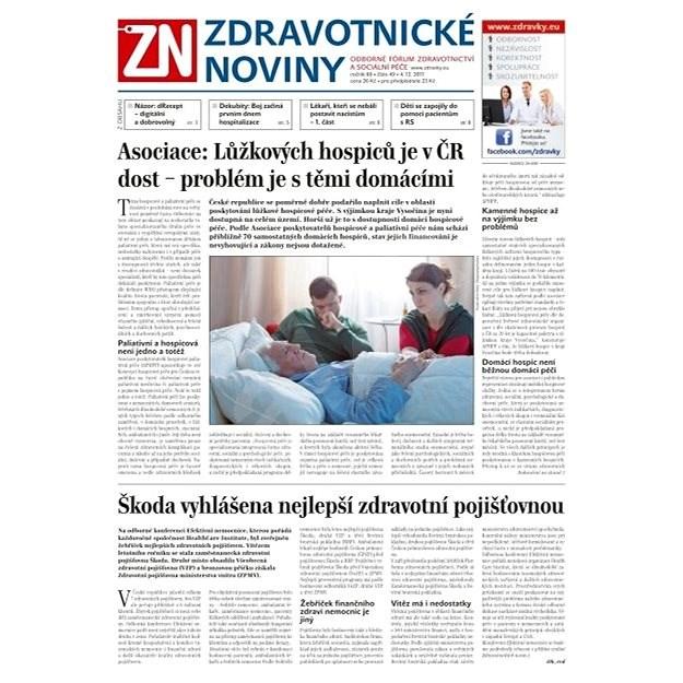 Zdravotnické noviny - pro lékaře - 49/2017 - Elektronické noviny
