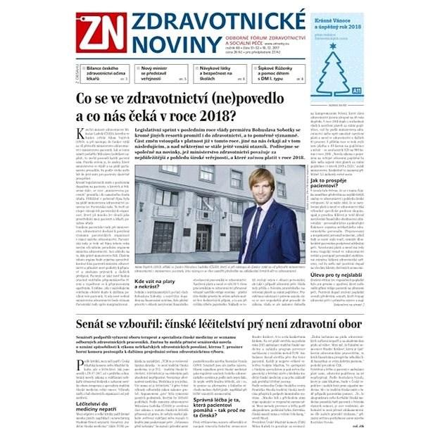 Zdravotnické noviny - pro lékaře - 51/2017 - Elektronické noviny